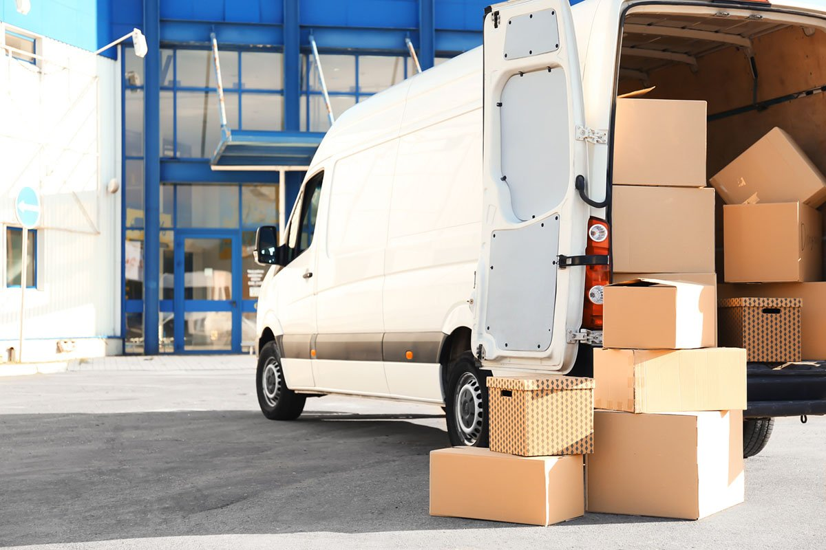 hire a man with a van when moving Flat