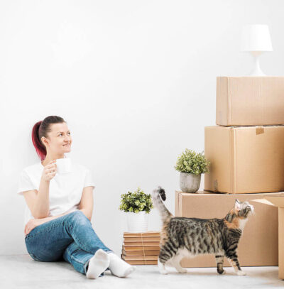 Moving Home with Pets - eXpert Man and van London, hire a man with a van when moving flat