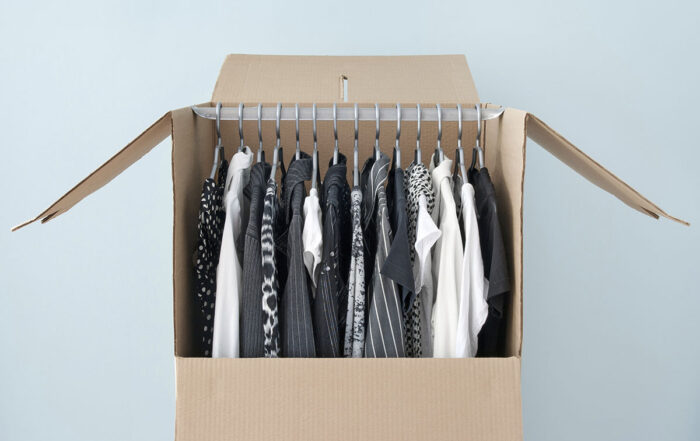 Moving and your wardrobe
